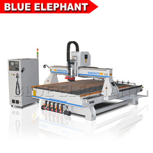 big table 1.8*2.5m cnc router for aluminium composite panel with auto tool changer