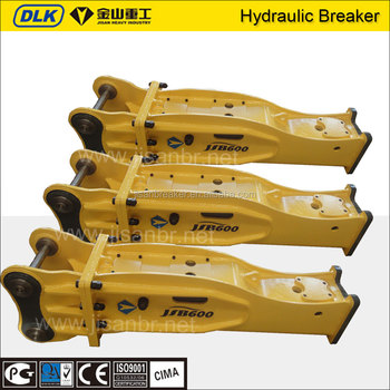 Mining excavator tool silence type hydraulic rock breaker hammer for sale