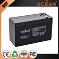 12V 7ah 100% real large current stylish solar battery solutions