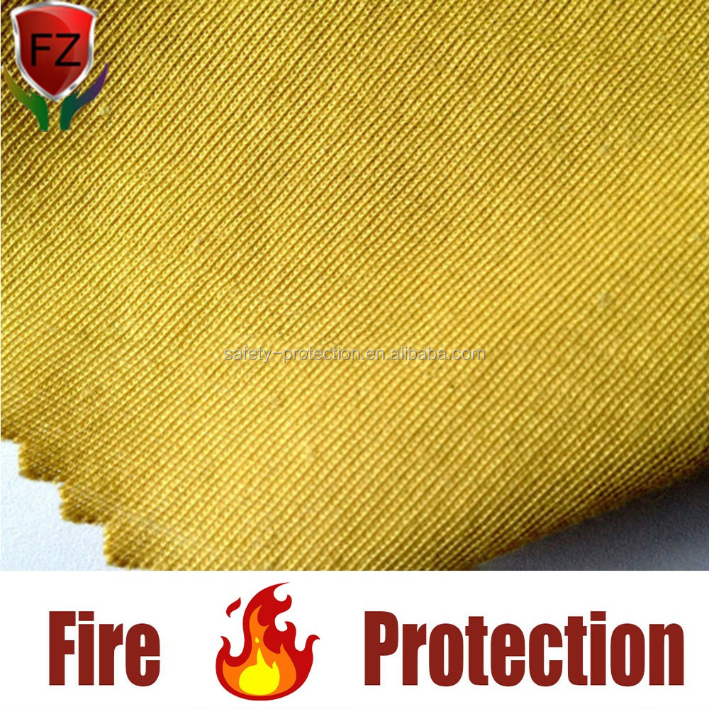 Flame /fire retardant fabric aramid fireproof fabric in safety clothing