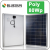 Hot sell poly 80w solar panel supplier in philippines