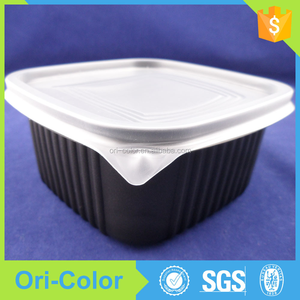 OEM plastic soft food packaging lunch box container