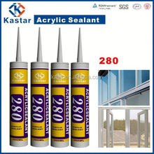 acrylic sealant,floor adhesive 100%flexible, gold supplier