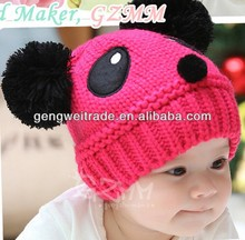 Newest Rose Red Animal Shape Baby Winter Hats