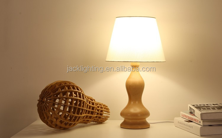 LED Wood table Light JK-879-16 LED Wood table lamp Table Lamp at sofa side tables, wood table lamp, task lamp