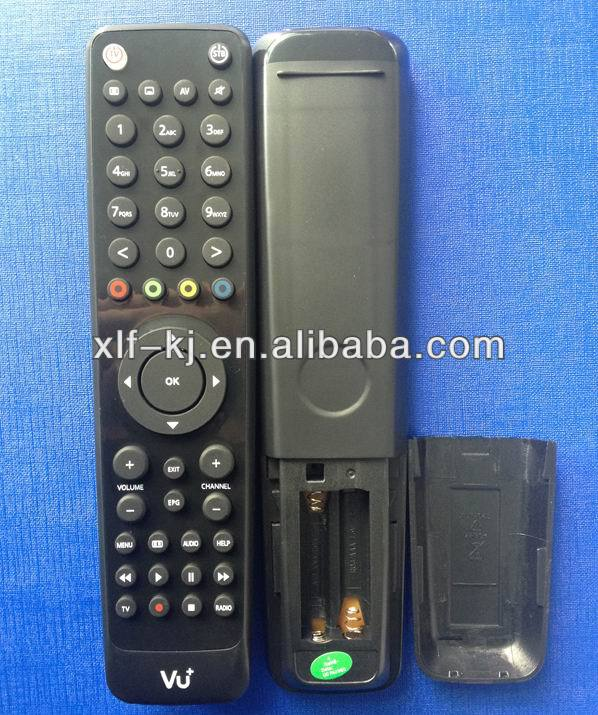 vu solo2 remote control/dvb/tv remote control for vu set top box