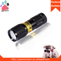 Passiontech laser pointer uv light led flashlight torch uv led flashlight