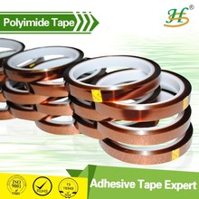 Crazy Price !!! 500F Adhesive High Temperature Polyimide Tapes For Gold Finger, PCB, Battery