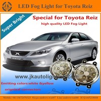 Best Price Angel Eyes LED Fog Light for Toyota Reiz Factory Direct LED Fog Lamp for Toyota Reiz 2010-2015