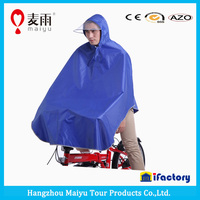 Maiyu waterproof cheap high quality rain poncho for bicycle