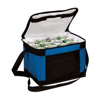 Fashion Wine Cooler Bag Double Compartment Lunch Cooler Bag
