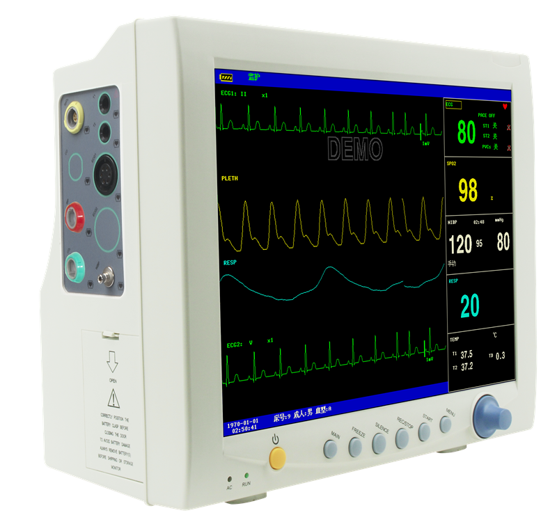 "CE&FDA approved 12.1"" color TFT display Multi-parameter Patient Monitor"