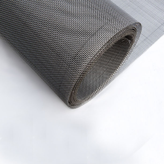 Food grade 304 stainless steel 200 micron plain weave wire mesh