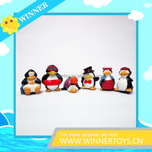 Very lovery plastic penguin figure toy
