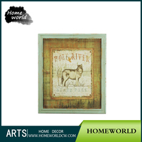 Foreign Trade Wall Decor Painting Export Pictorial Painting Frame Visual Animal Painting