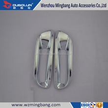 Car Accessories Chrome Rear Foglight Foglamp Cover Trims For 2012 Highlander Toyota