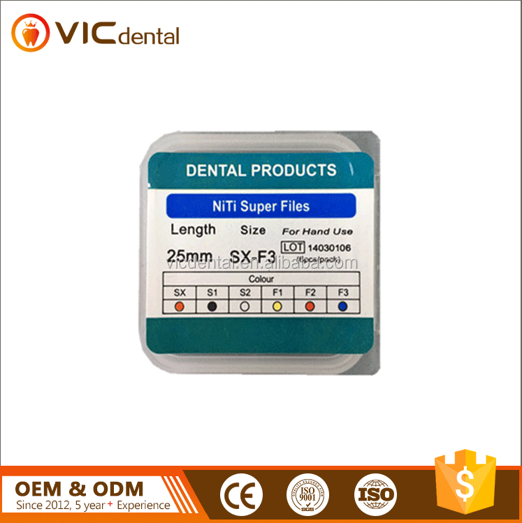 Dental Dentsply Protaper Rotary Files