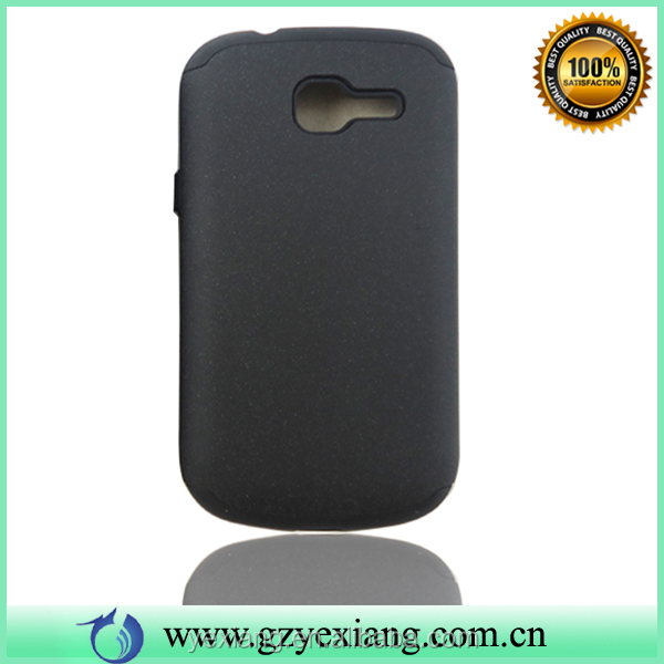 Rubber Hard Back Cover For Samsung Galaxy Trend II Duos S7572 Silicone Case