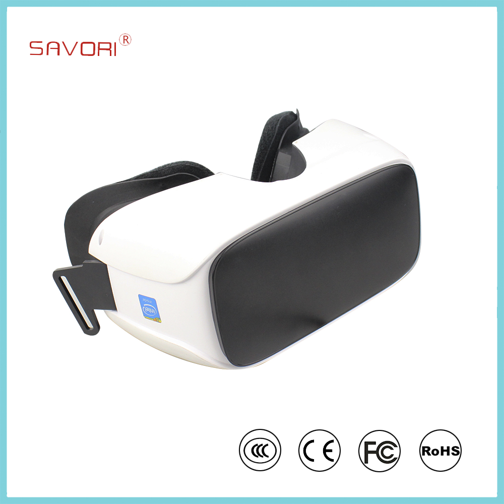 2017 VR All In One 3D glass VR headset 2560*1440p HD <strong>screen</strong> with Android 5.1 and Nibiru OS
