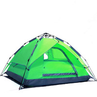 Waterproof Quickly Open Double Layers Tipi Tent Camping