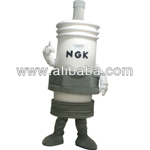 custom Made Spark Plug Mascot Costume