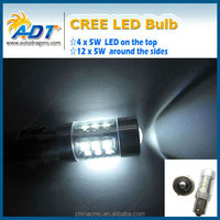 Factory deal for USA CR 80w led light bulb 1156 ba15s white auto led lighting car accessories