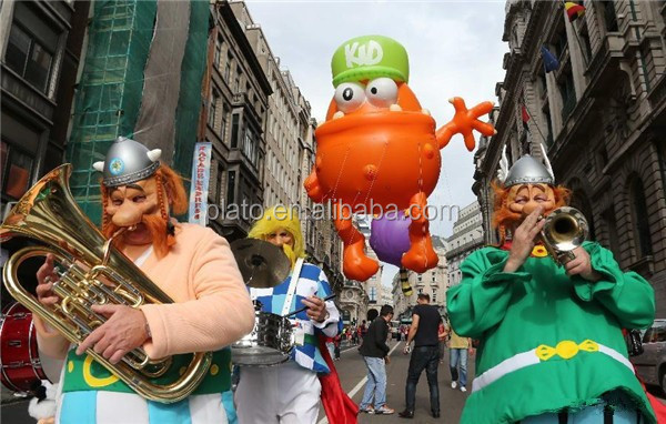 Giant Inflatable helium cartoon,inflatable character promotional model