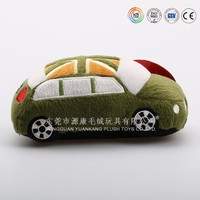 Custom made big comfortable soft plush toy cars for kids to drive