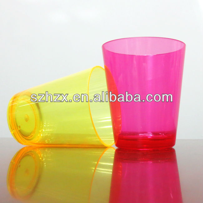 pp hard plastic cups/making cup plastic