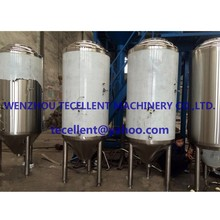 800L Stainless Steel Beer Fermentation Tank with Dimple Jacket for Sale