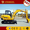 Hot sell hydraulic mini crawler excavator 6tons with CE certificate