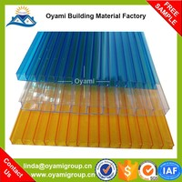 Enviromental low price strong fire resistance high quality lexan polycarbonate sheet price for greenhouse