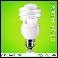 2014 new products half spiral energy saving lamp china supplier style energy saving e27 7w led lighting bulb