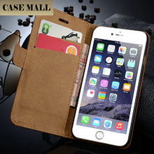 2015 Newest Colorful Leather Case with Credit card Slot for iPhone6 Mobile Phone Leather Wallet Case for iphone 6