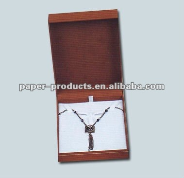 red cardboard jewelry box hooks