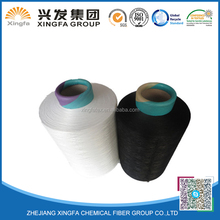 super quality high tenacity 150d 288f 2 dyed polyester yarn