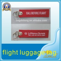 customized remove before flight keychain remove before flight Luggage Tag
