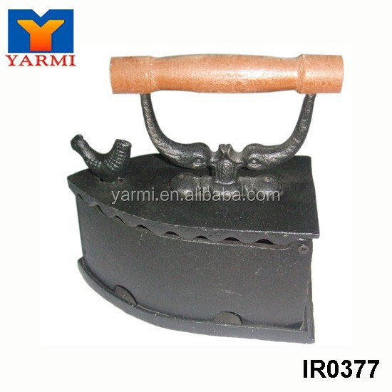 COCK BRAND CAST IRON CHARCOAL IRON