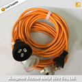 Australian SAA approved 3 pins plug with socket extension cords on hot sales