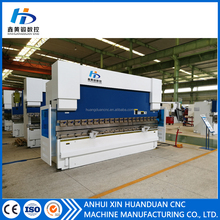 Top quality 5mm thickness hydraulic press brake machine/cnc bending machine