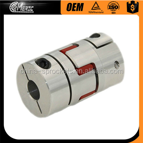 WRM D19L25 5mm to 5mm CNC stepper motor steel flexible coupling