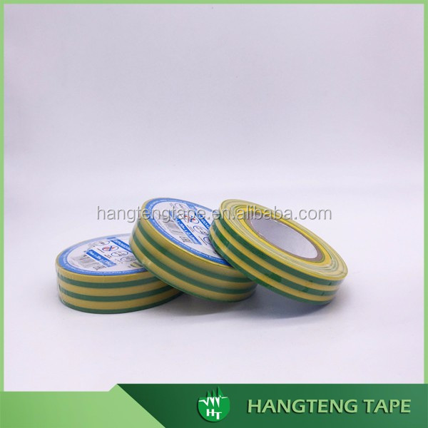 Alibaba website Ground Wire PVC floor marking Tape yellow green