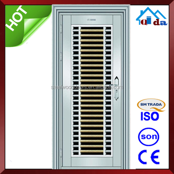 QD-SS092 Entrance Anti- theft Villa Main 304 Stainless Steel Door