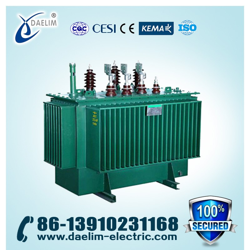 Outdoor 11kv Best Quality 750KVA S11-M Series Of Sealed Oil Immersed Power Transformers