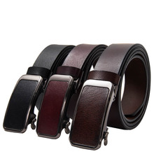 online shopping new products 2018 innovative cool alloy automatic buckles decoration cloth men ratchet belt