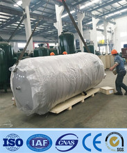 galvanized steel cylindrical water storage tank exported to dubai ,UAE