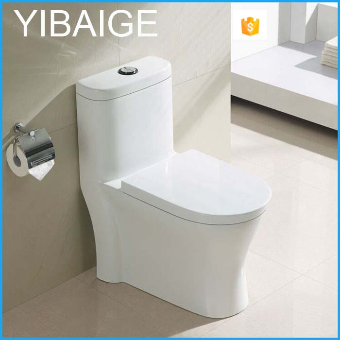 Hot Bathroom chinese toilet Elongated wc toilet Siphonic One Piece Toilet