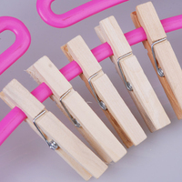 Birch Wooden Clothespins 25/35/45/48/72mm Clothes Pin Peg Craft Clips Great for crafts making