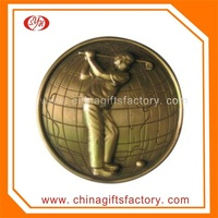 Custom Metal Great Wall Of China Coin
