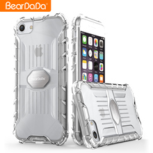 Newest Design pc tpu clear case for iphone 8,back cover for iphone 8